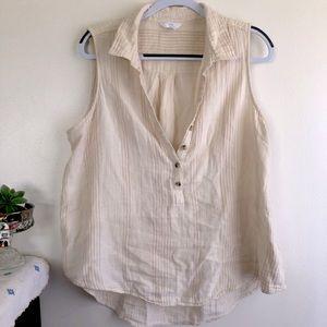 Gauzy summer blouse